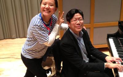 Teng Li; Meng-Chieh Liu, pianist
