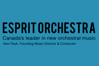 Soloist with Esprit Orchestra October 24