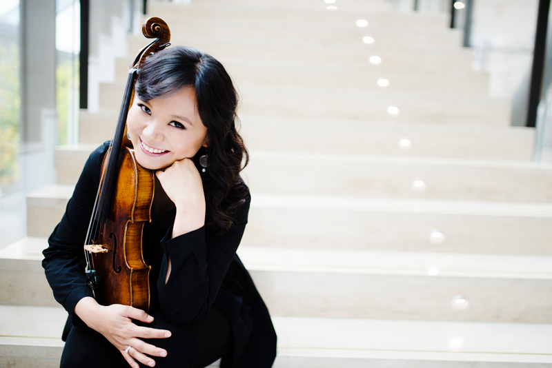Teng Li talks viola on CBC In Concert
