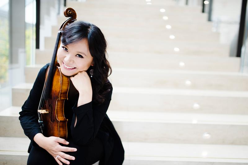 Teng Li talks viola on CBC In Concert