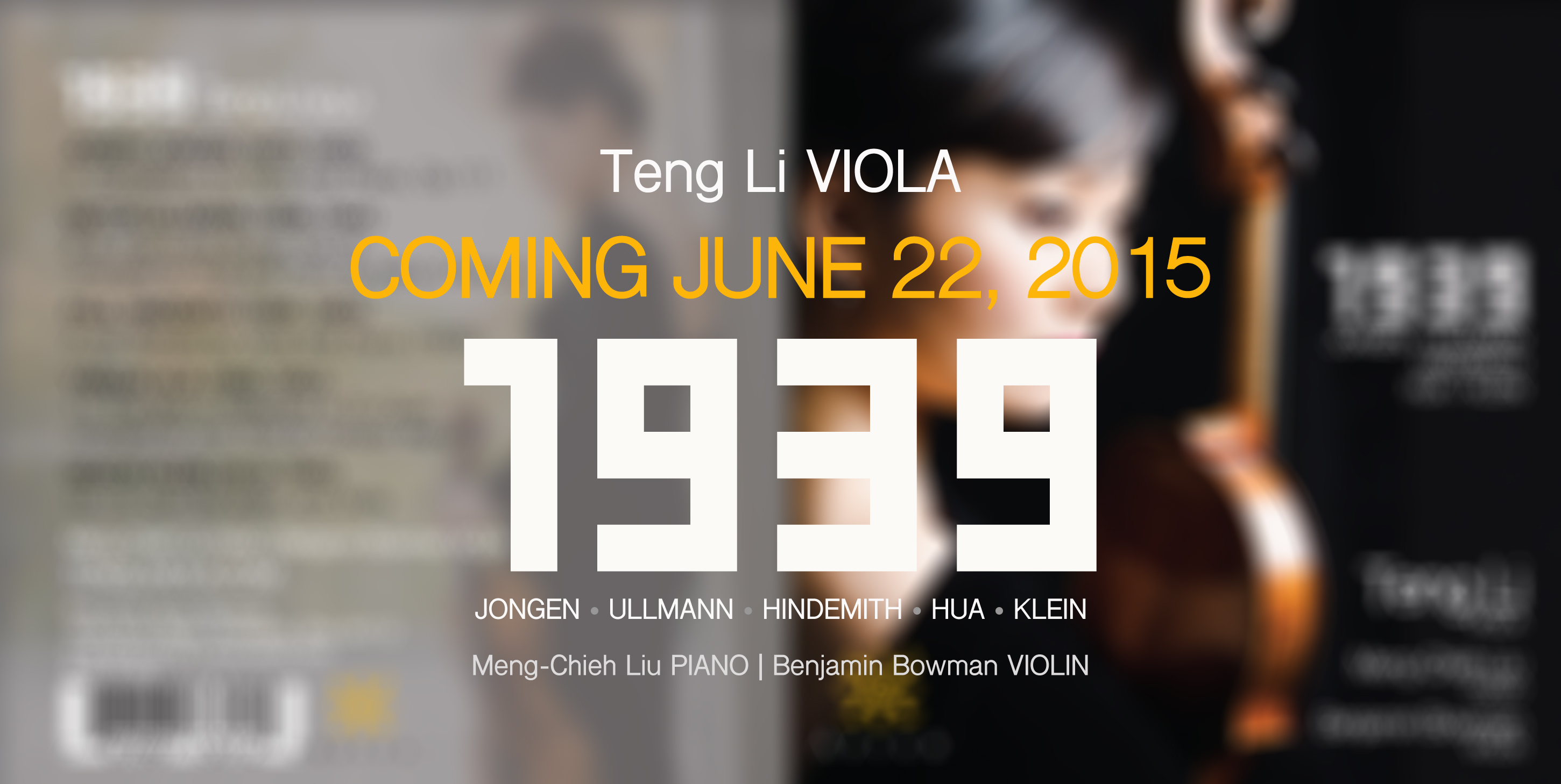 1939:  CD Release confirmed for June 22, 2015